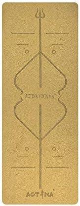 Yoga mat 天然針葉樹天然ゴムエコヨガマット、肥厚5mmです。ノンスリップグリーンヨガマット workout