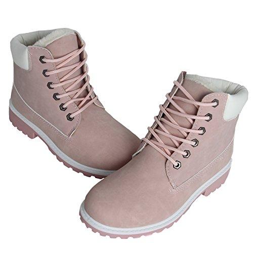 BenSports - Botas de Piel para mujer, , Rosa