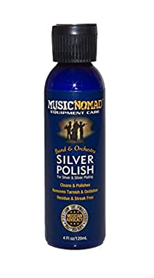 Music Nomad MN701 Silver Polish for Silver and Silver-Plated Instruments, 4 oz. by Music Nomad Equipment Care