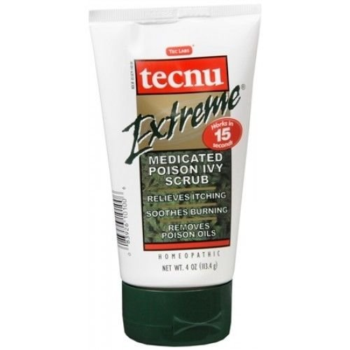 Tecnu Extreme Medicated Poison Ivy Scrub 4 OZ - Buy Packs and SAVE (Pack of 3)