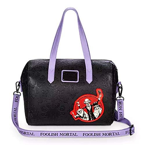 Disney Loungefly Haunted Mansion 50th Anniversary Barrel Crossbody Bag Purse