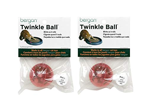 (Bergan Twinkle Replacement Ball, Colors Vary 2-Pack)