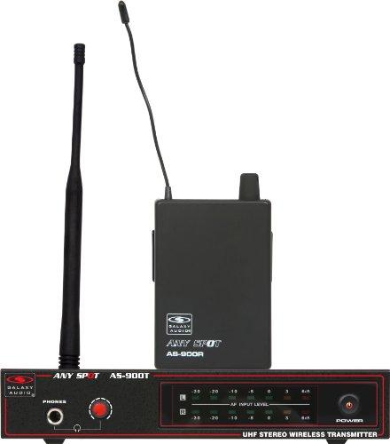 Galaxy Audio AS-900 Wireless In-Ear Personal Monitor System, Code N2 (517.55 (Personal Wireless Pa System)