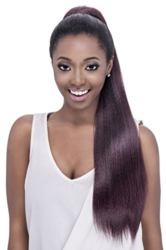 Vivica A Fox New Futura Synthetic Fiber Hair Collection PB-Rose Pocket Bun, 1B, 7.1 ()