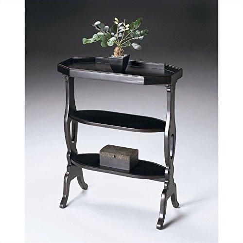 Beaumont Lane Accent Table in Plum Black