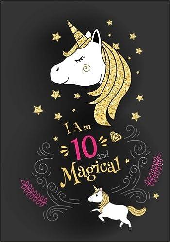 Im 10 Magical Cute Unicorn Journal Notebook Happy Birthday Gift