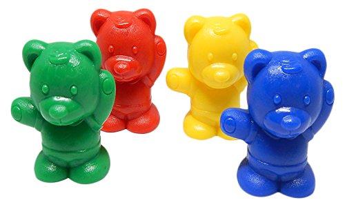 ETA hand2mind Baby Bear Counters, Set of 100 (Baby Counters Bear)
