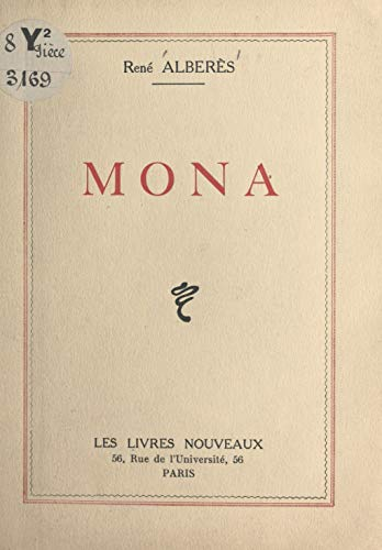 Mona French Edition Kindle Edition By Rene Alberes