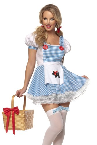 Mystery House Women's Dorothy, Blue/White/Red, Small
