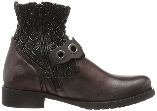 Bottines Bunker Rouge Femme Ct37 Burdeos Violet 7dFdw