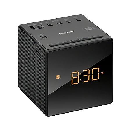 Sony ICFC1T Alarm Clock Radio, Black ICFC1TBLACK