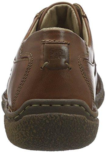 Josef Seibel Neele 03, Zapatos derby Mujer Braun (castagne 345)