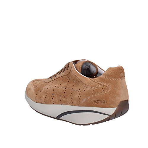 MBT - Zapatillas de ante para mujer marrón