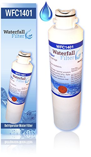 Waterfall Filter DA29-00020B Refrigerator Water Filter, Compatible with Samsung DA29-00020B