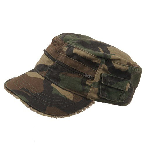 MG Zippered Enzyme Army Cap product image