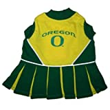 Pet Care Preferred Oregon Ducks Cheerleader Dog Dress - Medium