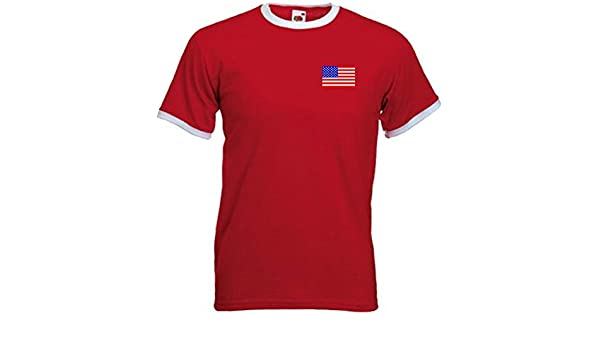 Amazon.com : Camiseta Hombre USA Estados Unidos Am?rica Equipo F?tbol - Todas Tallas : Sports & Outdoors