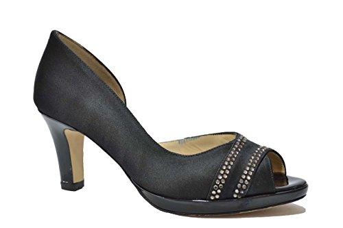 Melluso Decolte' scarpe donna nero E1420