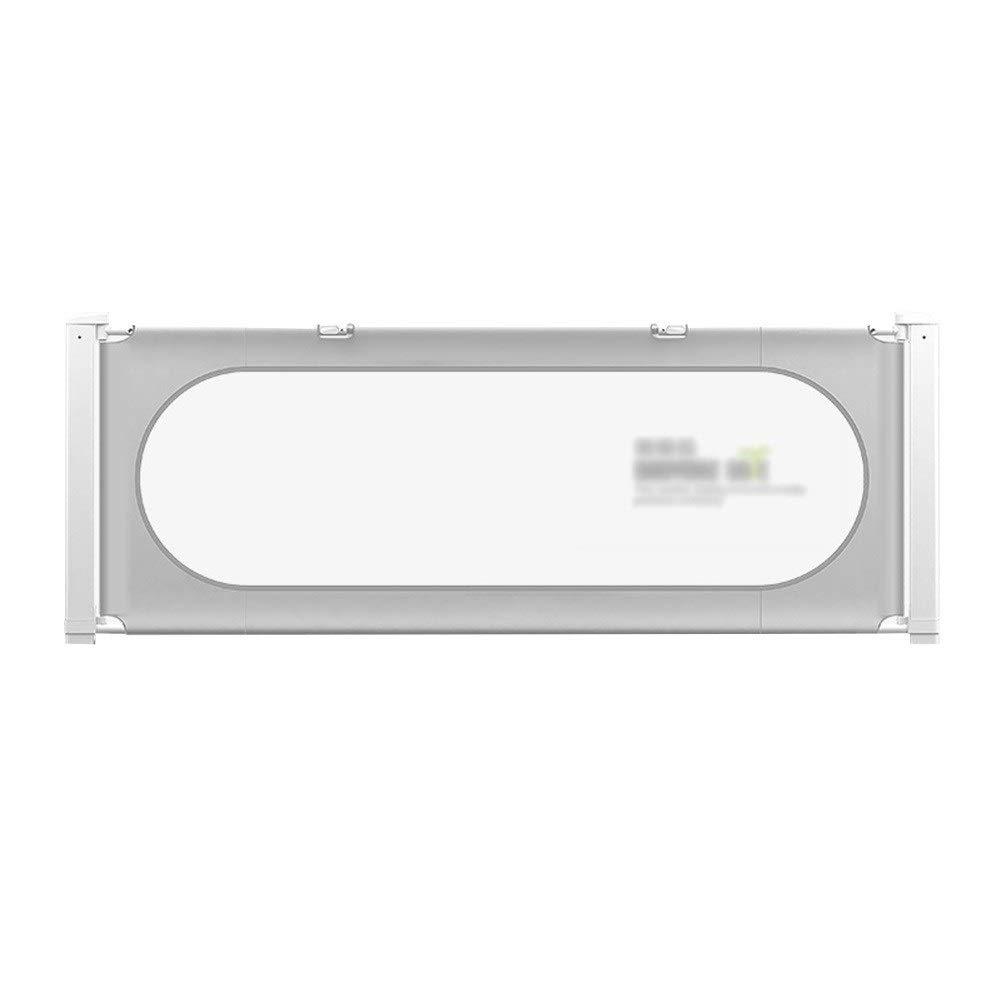 HENGYUS ベッドレール 幼児用エクストラロング強化アンカー安全システム付き4段縦リフト調整シームレスステッチ (Color : Gray, Size : 200x75cm) 200x75cm Gray B07SJT384K