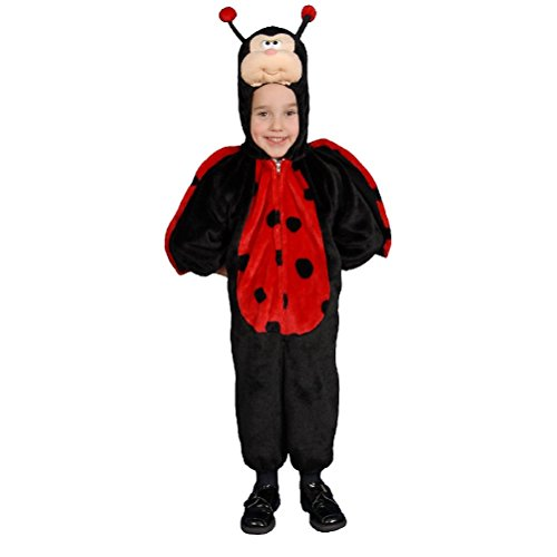 [Cute Little Ladybug Costume] (Ladybug Costume Makeup)