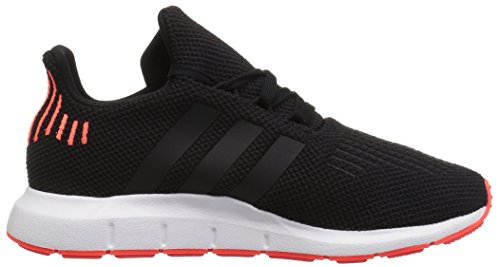 adidas Originals Baby Swift Running Shoe Black/Solar red, 9.5K M US Toddler by adidas Originals (Image #6)