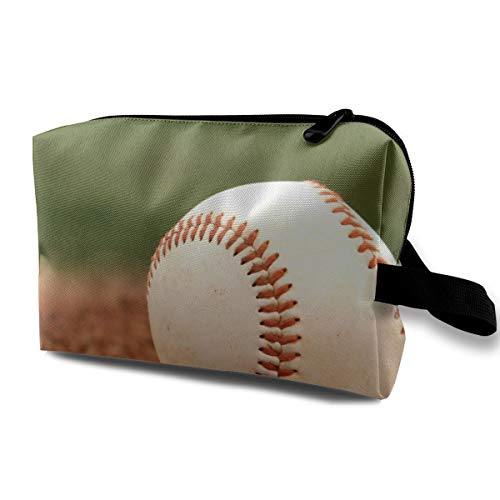 - DuoleFu Baseball On The Playground Multifunction Portable Make-up Bag Makeup Bag Sewing Kit Medicine Bag Cosmetic Bag for Home Office Travel Outdoor
