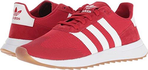 adidas Originals Women's FLB_Runner W Running Shoe, Scarlet/Scarlet/White, 8 M US (Adidas Retro Shoes)