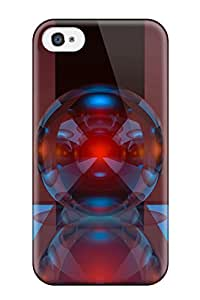 New Arrival Case Specially Design For Iphone 4/4s (3d Spheres)