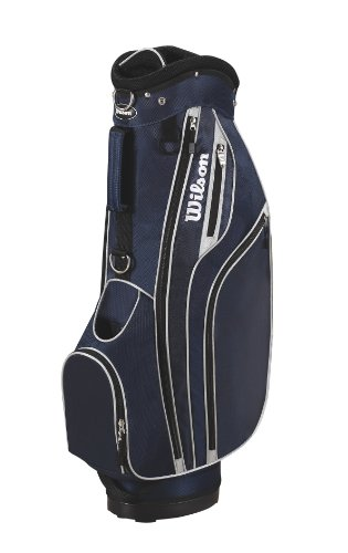 Wilson Sporting Goods Lite Cart Golf Bag, Navy