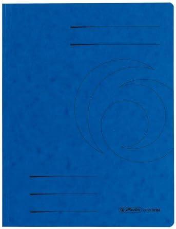 am Unterdeckel verschieden Farben und Sparpakete zur Auswahl Jurisklappen A4 herlitz Sammelmappe easyorga orange, 10 ColorspanKarton mit 3 Klappen