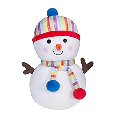STOBOK Christmas Plush Snowman Doll Stuffed Toy Figurine Gift Desktop Ornament Pendantfor Kid Christmas Tree Xmas Festive Decorations Hanging Season Theme - Winter: Office Products