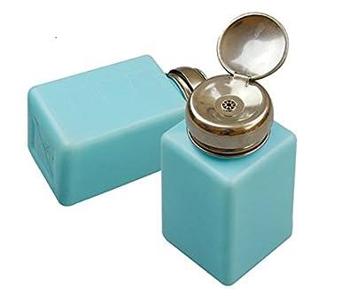 kokee Juego de 20 piezas 6 oz (200 ml) azul de uñas Remover Alcohol