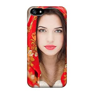 Bernardrmop Premium Protective Hard Case For Iphone 5/5s- Nice Design - Winter Russian Girl
