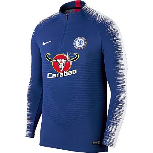 Nike 2018-2019 Chelsea Strike Vaporknit Drill Top (Blue) ()