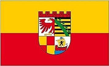 U24 Aufkleber Dessau Roßlau Flagge Fahne 8 X 5 Cm Autoaufkleber Sticker Auto