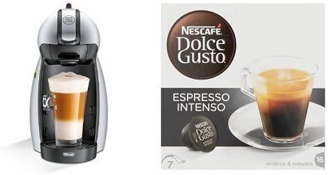 Pack DeLonghi Dolce Gusto Piccolo EDG201.S - Cafetera de cápsulas ...