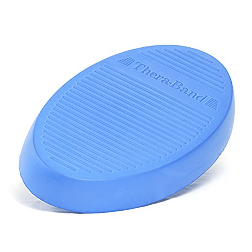 TheraBand Stability Trainer Pad, Intermediate Level Blue Foam - Trainer Stability