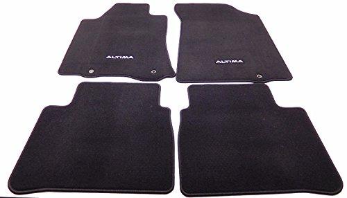 Genuine Nissan Accessories 999E2-UZ000 Charcoal Carpeted Flo