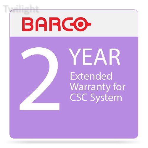 Barco 2-Year Extended Warranty for CSC System