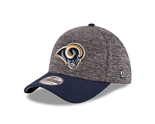 [NFL Los Angeles Rams 2016 Draft 39Thirty Stretch Fit Cap, Small/Medium, Heather Gray] (Rams Draft)