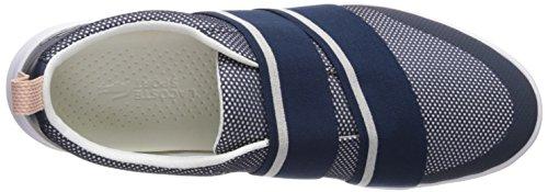 Lacoste Womens Avenir Slip Sneaker Blu Scuro
