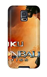 Anti-scratch And Shatterproof 3d Goku Dragonball Phone Case For Galaxy S5/ High Quality pc Case