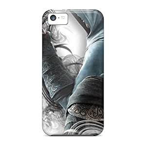 Tpu Shockproof/dirt-proof Assassins Creed Cover Case For Iphone(5c)
