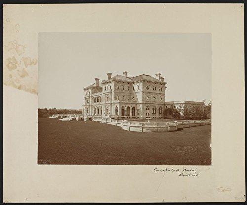 1893 Photo Cornelius Vanderbilt