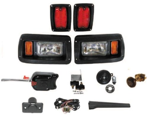 DELUXE Street Package Light Kit for Club Car DS Golf Cart 19