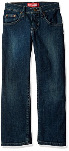 Jeans Boys Lee - Lee Big Boys' Premium Select Fit Straight Leg Jeans, Roost Handsand, 16 Regular