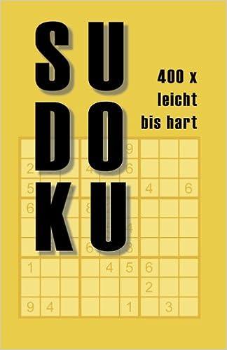 Sudoku: 400 x leicht bis hart