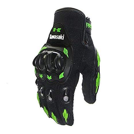 KA Verde Guanti Moto Invernali Guanti Motocross per Uomo//Donna Qiyun Protezione per Attivit/à Esterna Guanti Scooter MTB Full Finger Unisex