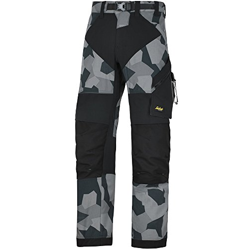 Pantalon Flexiwork Gris noir Travail 69038704152 De Taille 152 Camouflage Snickers bf6gyY7