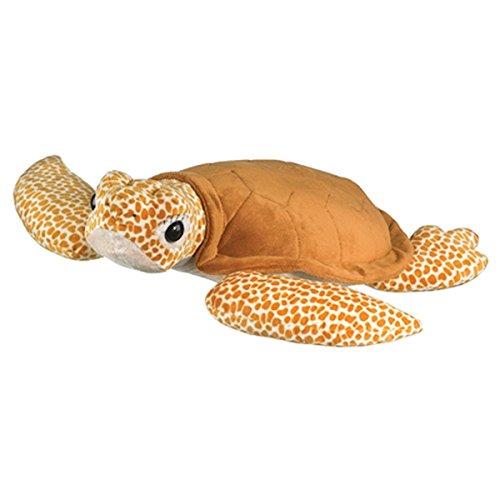 - Jumbo 24 Inch Stuffed Loggerhead Sea Turtle by Wildlife Artists, 6in H x26in W x 26in L
